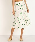 Faithfull the Brand Marin Skirt Lolita Green Dot, view 3