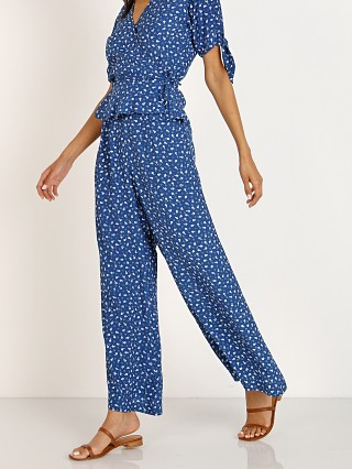 Faithfull the Brand Gabrielle Pants Monette Blue Floral