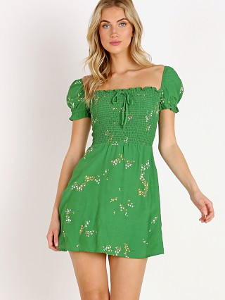 Faithfull the Brand Genevieve Dress Myrtille Floral Print