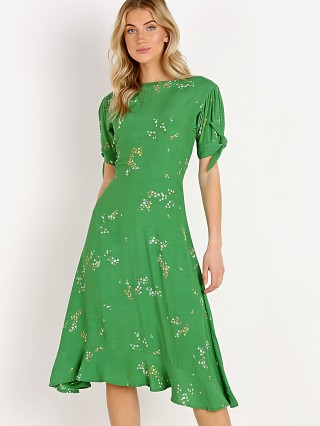 Faithfull the Brand Emilia Midi Dress Myrtille Floral Print