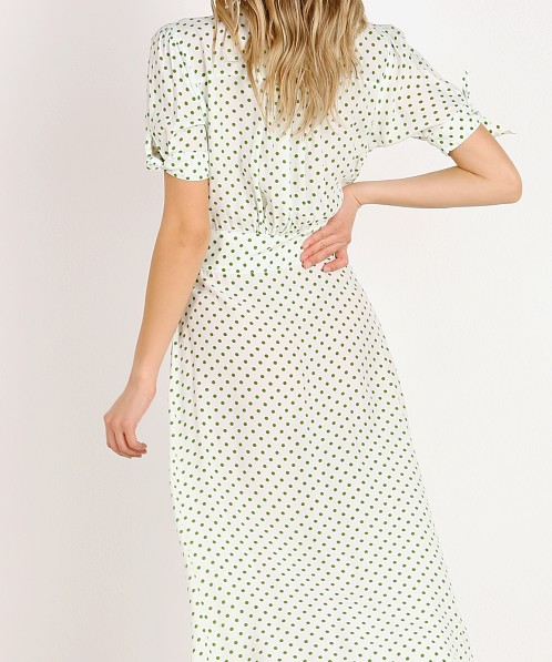 Faithfull the Brand Billie Midi Dress Lula Dot Print