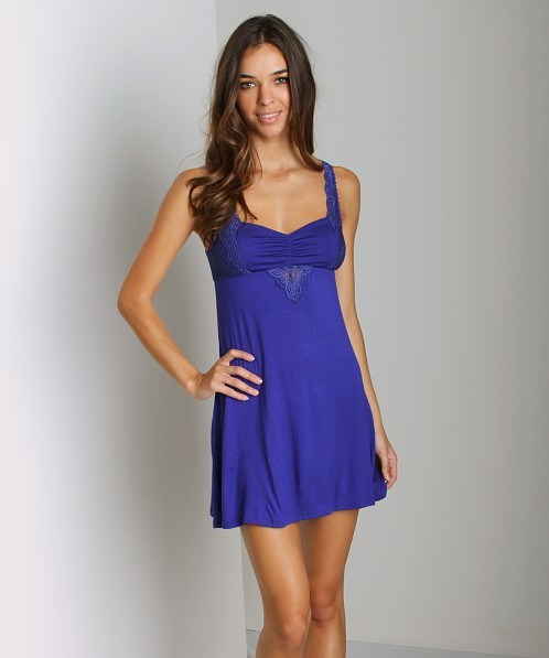 Fleur't Sweet Surrender Chemise Royal