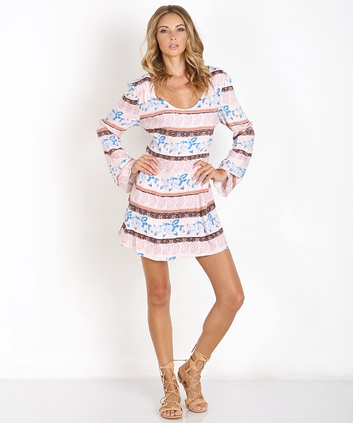 Somedays Lovin Explore More Tie Back Dress Multi