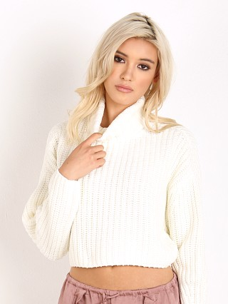 Finders Keepers Like Smoke Knit White