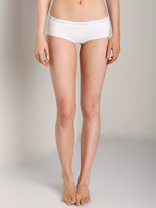 Complete the look: Cosabella Edge Cotton Hotpant White