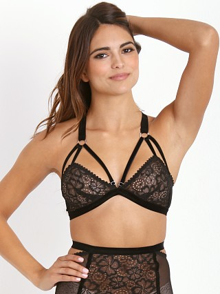 Lonely Sabel Cut Out Bra Black