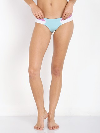 N.L.P Kali Bikini Bum White/Rose Smoothly/Aqua Marine