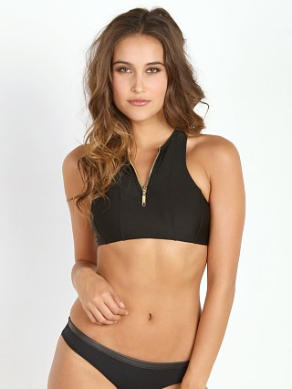 Complete the look: N.L.P Alina Paddle Crop Black