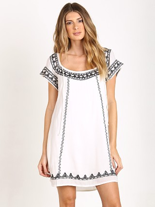 Tularosa Lila Tunic Dress White