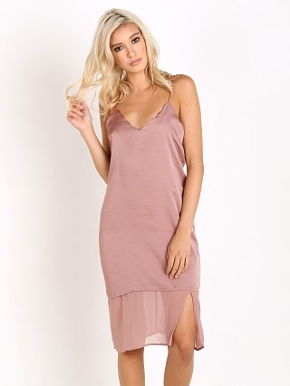 Tularosa Beckett Slip Dress Dusty Rose