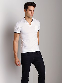G-Star Caleb Polo Shirt White
