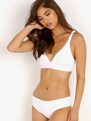 Complete the look: Boys + Arrows Phil Bikini Top White