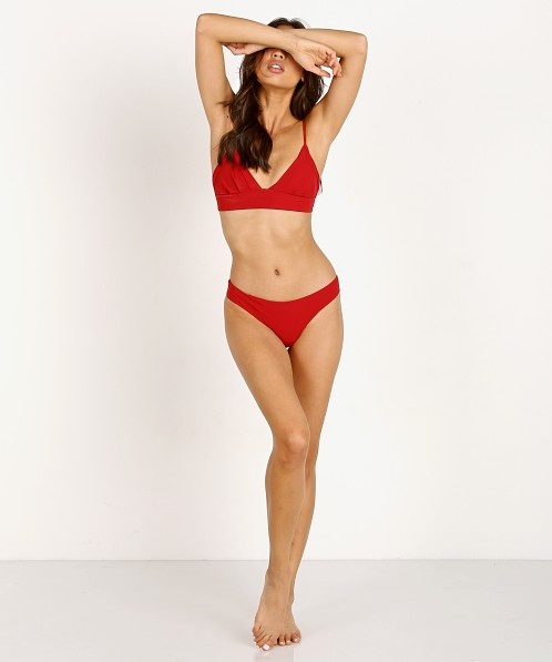 Boys + Arrows Dana Bikini Top Red