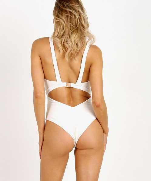 Kopper & Zink Gidget One Piece Ribbed White
