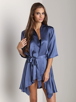 Zinke Delphine Charmeuse Robe Lake