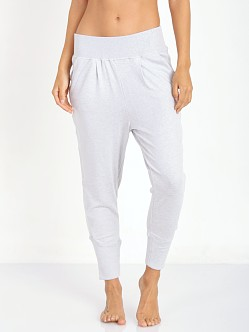 Beyond Yoga Tuxedo Crop Pant Light Heather Grey