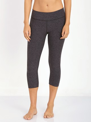 Beyond Yoga Capri Legging Black/Steel Space Dye