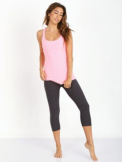 Beyond Yoga Cut Out Cami Coral Glow/White Space Dye