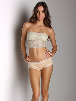 Free People Cropped Bandeau Champagne