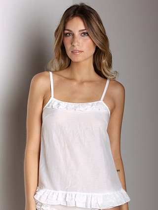 Blush Angel Flirt Camisole White