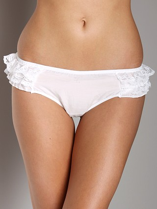 Blush Angel Flirt Thong White