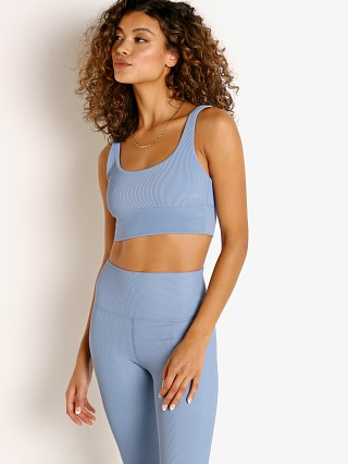 Beach Riot Leah Top Sports Bra Slate