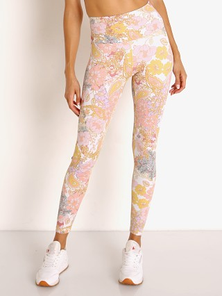 Beach Riot Piper Legging Harvest Gold Paisley