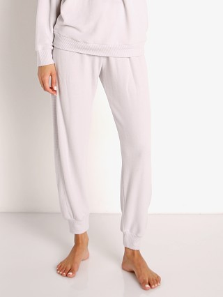 Model in haze Eberjey Cozy Time Combo Pant