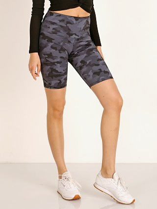 Onzie High Rise Bike Short Black/Camo Grey