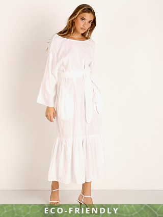 Mara Hoffman Augusta Organic Cotton Dress White