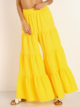 Mara Hoffman Shelesea Pant Yellow