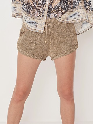 Spell & The Gypsy Aggy Shorts Gold