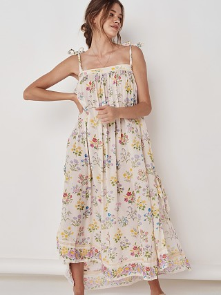 Spell & The Gypsy Posy Maxi Sundress Gardenia