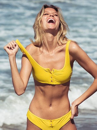 You may also like: Frankie's Bikinis Alana Bikini Top Amber