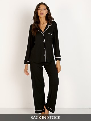 Model in black/sorbet Eberjey Gisele PJ Set