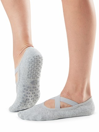 You may also like: ToeSox Chloe Grip Sock Stone