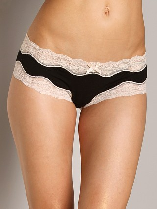 Eberjey Lady Godiva Brief Black/Beige
