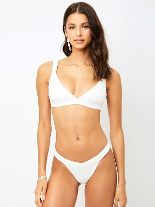 Complete the look: Frankie's Bikinis Georgia Bikini Top White