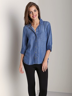 Bella Dahl Shirttail Button Down Worn Well