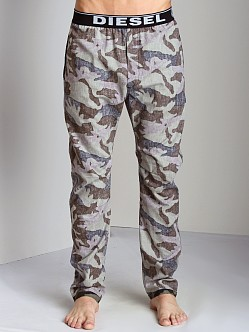 Diesel Workyboy Camouflage Lounge Pants Dark Camo