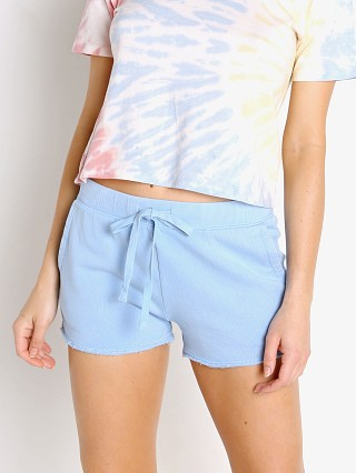 Model in perennial blue Z Supply Marina Washed Short