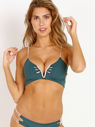 KOA Swim Sunrise Reversible Bikini Top Tropic/Bare