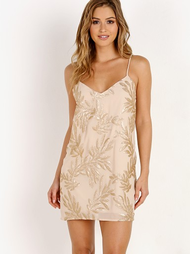 Show Me Your Mumu Vivienne Slip Dress Golden Goddess