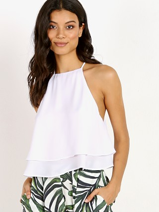 Show Me Your Mumu Evie Crop White Crisp