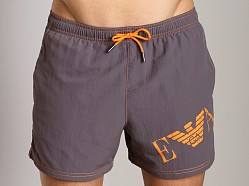 Emporio Armani Big Logo Swim Shorts Grey