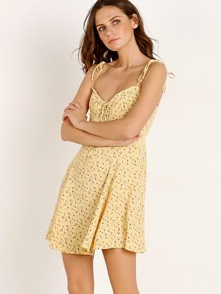 99866a1007c Blue Life Sienna Corset Dress Fantasy Ditsy Yellow