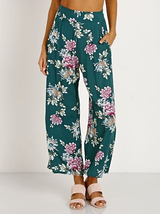 Stillwater The Olsen Crop Pant Jade Paradise