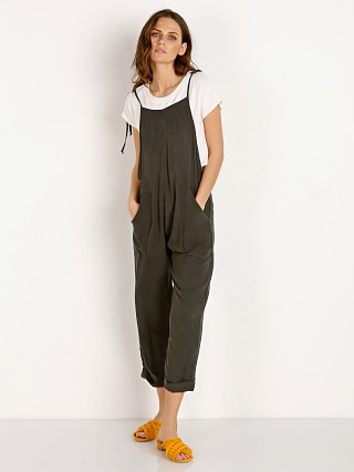 Stillwater Some Beachy Overalls Wash Black