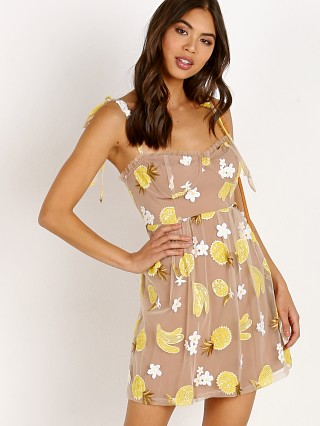 For Love & Lemons Fruitpunch Mini Sequin Pineapple