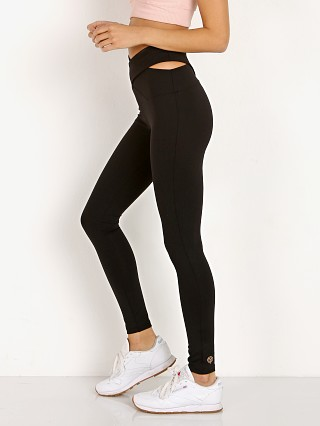 Year of Ours Crossed Cut Out Legging Black